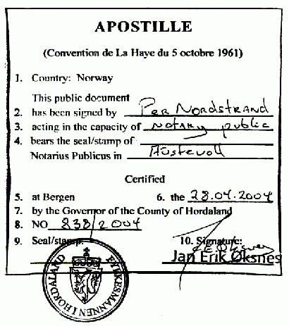 How to Get an Apostille (or Certificate of Authentication) for your USA Corporation or LLC Documents 2