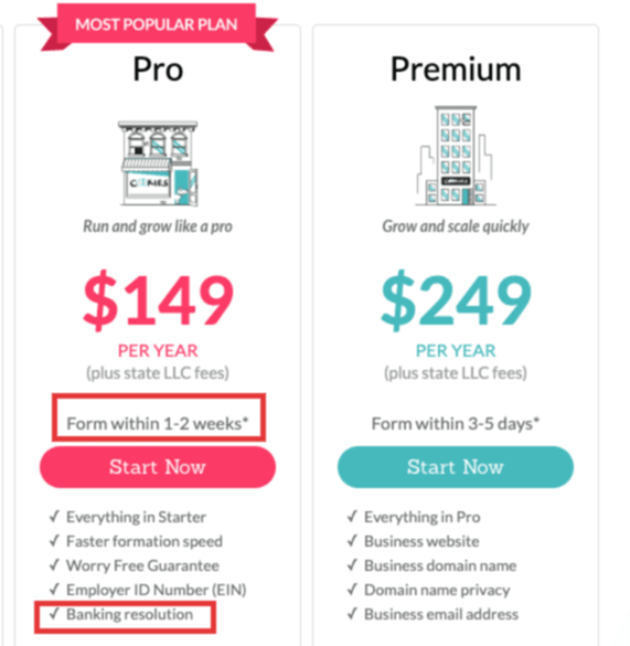 "Compare MyCompanyWorks to ""Free"" Services 3"