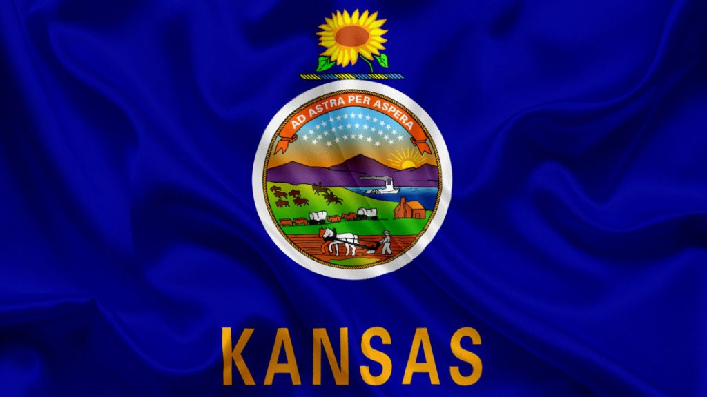 Kansas State Flag Agriculture