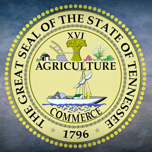 Tennessee State Seal 1796 Agriculture and Commerce
