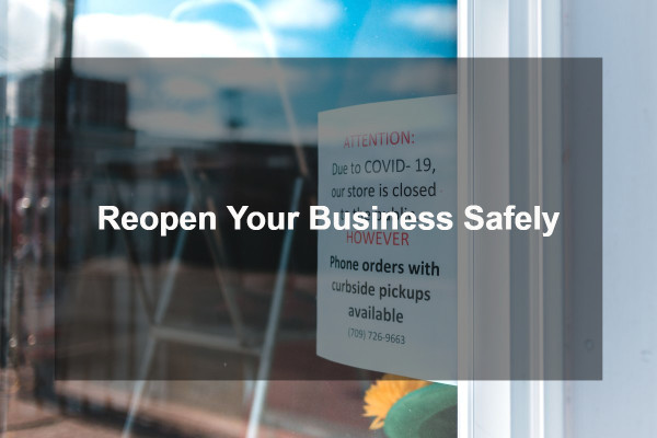 Reopen Your Business Safely 1