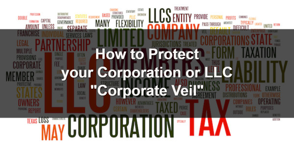 Protecting the Corporate Veil 1