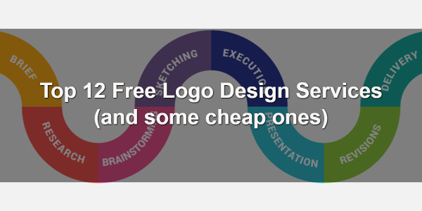 Top 12 Free Logo Design Services (and some cheap ones) 1