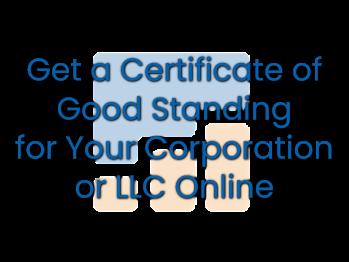 Certificate of Good Standing 1
