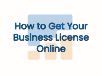 Get Your Business License Online 1